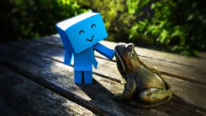 Meet the green thing by Sabine62