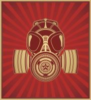 Gas Mask by decamillo