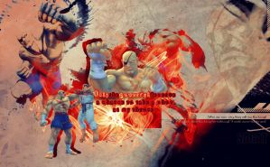 Sagat_wallpaper by MasterKenny
