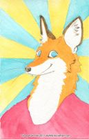Happy Fox by Atalhlla