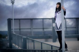 Homura Akemi - Waiting for the Night by FloksyLocksy