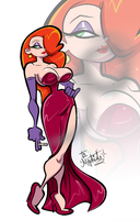 Jessica Rabbit by Mordor-in-love