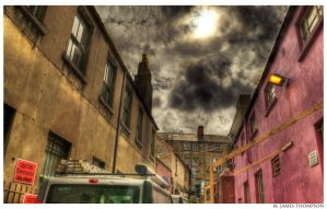 Angry Alley by MJamesThompson