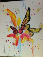 Hippy Drippy Butterflies by Merwenna