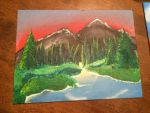 Evergreen Mountains by Auroen