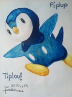 Piplup - Tiplouf by Anaponey2000