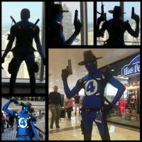 More of my Fantastic 4 Deadpool by AkatsukiAkuma53421