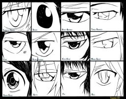 katekyo hitman reborn Eyes by Randazzle100