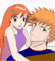 my first Drawing Ichihime by yumehime04