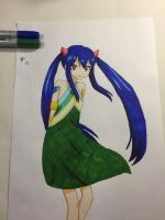 Wendy Marvell-Fairy Tail by TheyCallMeNajera