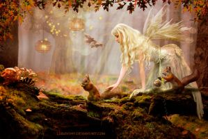 Tales of an autumn forest by Lubov2001