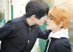 Haikyuu cosplay // Kagehina by DAIxSORA
