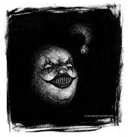 Coulrophobia by Callifae