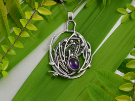 From the forest - necklace by JoannaWatracz