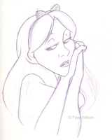 Pensive by Violet--Gypsy