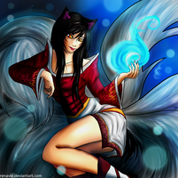 Ahri by Renavie