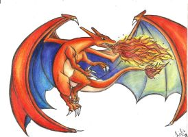 .:Charizard:. by Lil-melody