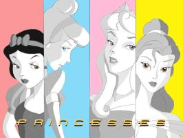 PopArt Princess Wallpaper2 by Anime-Ray