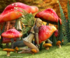 Even 'Shrooms Deserve A Little Love by Radthorne