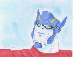 He is handsome Optimus TFA by ailgara