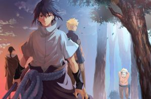 Naruto - Our pasts behind us by Heta-LOLia