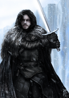Jon Snow by RobbSimon