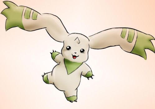 Terriermon is back by Sahel