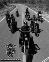 Sons of Anarchy poster by IGMAN51