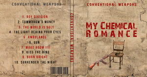 My Chemical Romance CD Cover by G0ldenART