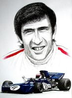 Jackie Stewart Tribute by machoart