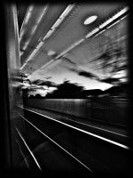 rushing by by awjay