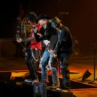 Richard Fortus, Axl Rose + DJ Ashba (Guns N Roses) by hope-screamitoutloud