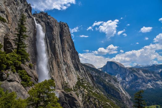 Yosemite Falls I by FinelliFotography