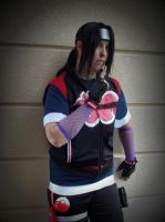 Pokemon Trainer Itachi by pikabellechu