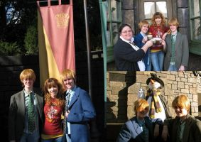 Fred and George and Friends by modestlobster