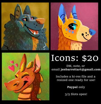 Icon Commissions CLOSED by Kaliaen