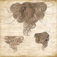Hair Pack 02 by Just-A-Little-Knotty