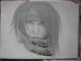 Vincent Valentine drawing by Jojo-XD