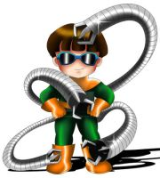 Doctor Octopus Chibi by ExoroDesigns