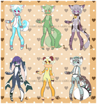 Cute Furry adopts - OPEN! by XMireille-chanX