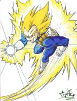 Vegeta by bigbabyretard