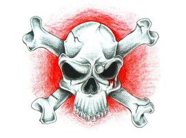 Skull N Bones by FlaShGuy82