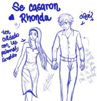 They got married, Rhonda by Abelista