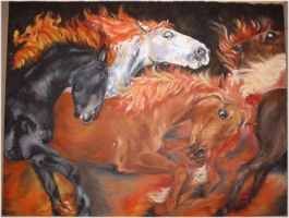 Fire Horses by Utlah
