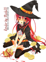 Shana Witch Halloween-Render by Michi20