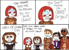 Dragon Age Origins: Leliana is Crazy by DivaXenia