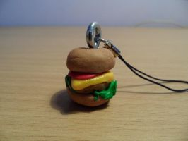 Cheeseburger charm by wales48