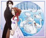 Seven Swans a Swimming by saylem