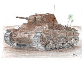 Carro Armato P40 by p40kittyhawk