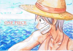 Monkey D. Luffy by emanon9988